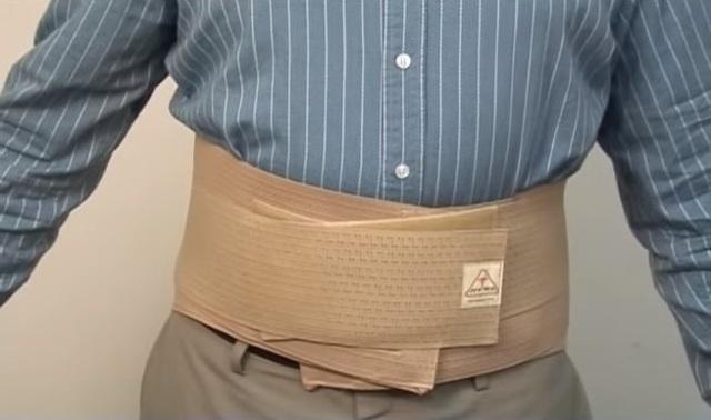 Корсет для поясничного отдела при остеохондрозе - плюсы и минусы