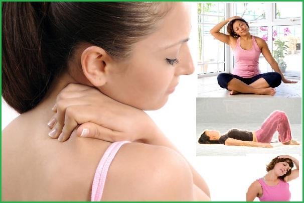 Как расслабить мышцы шеи и снять спазм при остеохондрозе?