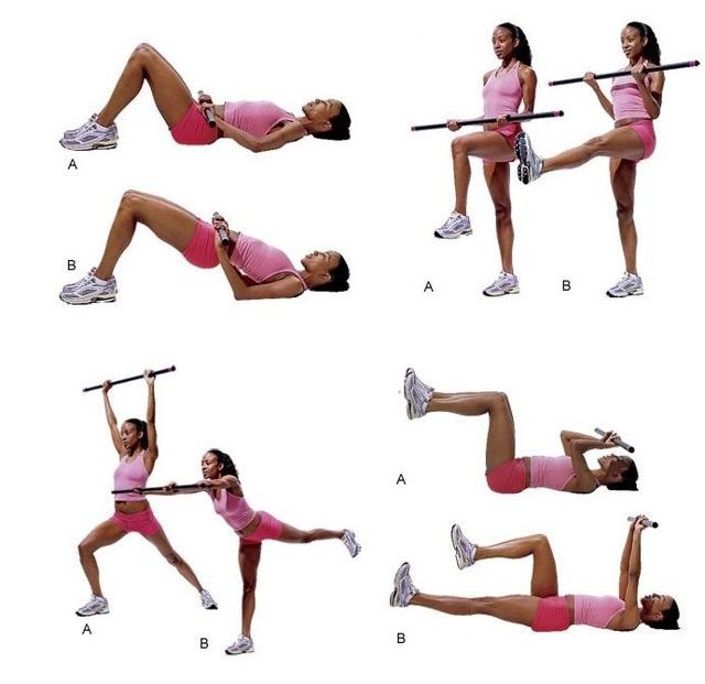 Зарядка и гимнастика с палкой при остеохондрозе, видео