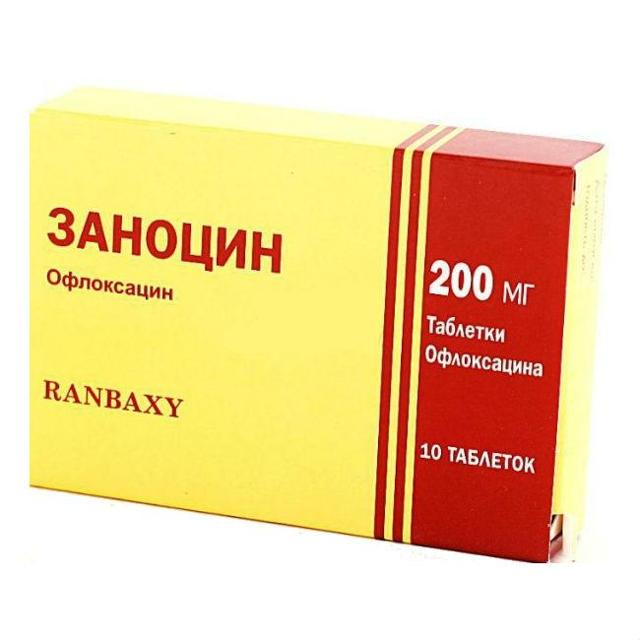 Офлоксацин - инструкция по применению, цена, отзывы, аналоги