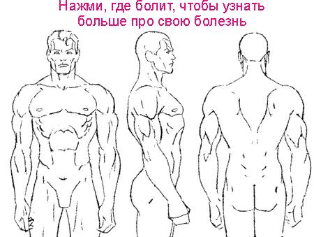 Остеохондроз шейного отдела позвоночника - 1, 2, 3 степени