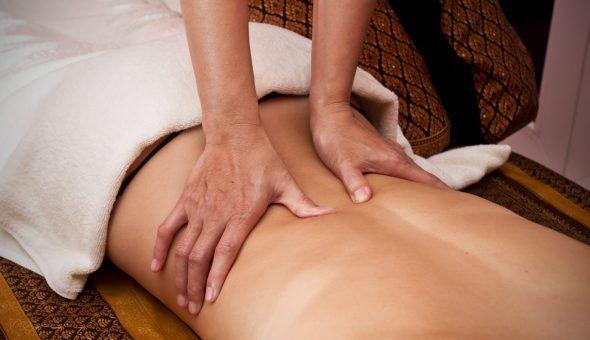 Массаж при остеохондрозе поясничного отдела позвоночника - видео