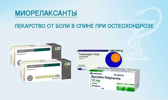 Препараты для лечения остеохондроза: НПВС, хондропротекторы и др