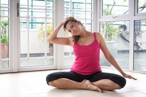 Упражнения и гимнастика при головокружении, видео, при шейном остеохондрозе