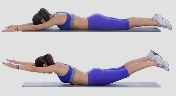 Упражнения для укрепления мышц спины при остеохондрозе