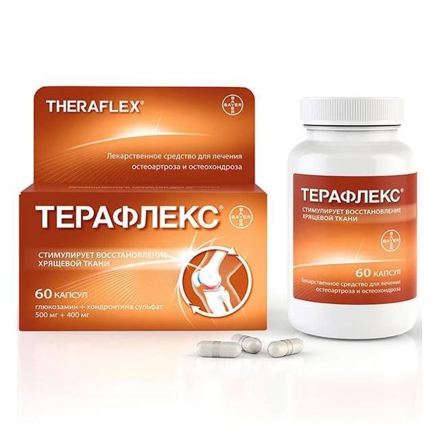 Терафлекс - инструкция по применению, цена, отзывы, аналоги, состав, таблетки
