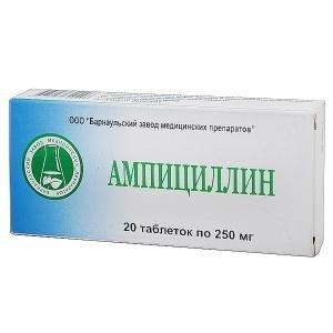 Ампициллин - инструкция по применению, отзывы, цена, аналоги