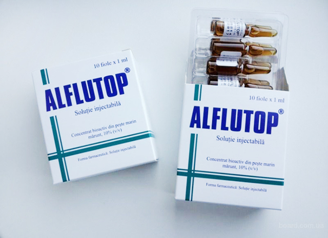 Алфлутоп - инструкция по применению, цена, отзывы, уколы, аналоги, для суставов