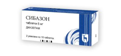 Сибазон - инструкция по применению, отзывы, цена, в ампулах, таблетки, аналоги