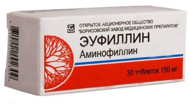 Эуфиллин - инструкция по применению, таблетки, ампулы, отзывы, аналоги, от чего