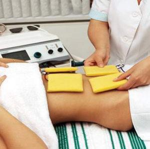 Лечение током (токи Бернара) при остеохондрозе, массаж