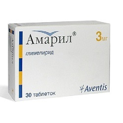 Амарил: инструкция по применению, аналоги, показания и противопоказания препарата