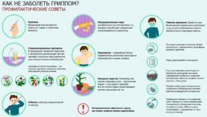 Как не заболеть гриппом во время эпидемии