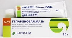 Мазь для рассасывания гематом и синяков на лице: эффективные средства
