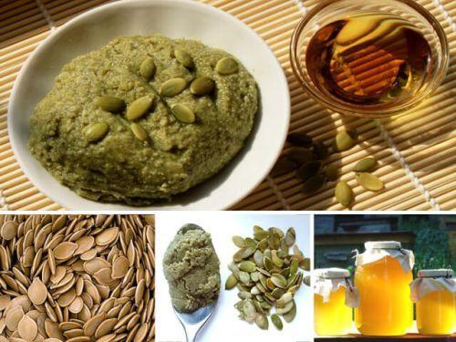 лекарство из тыквенных семечек и меда при простатите