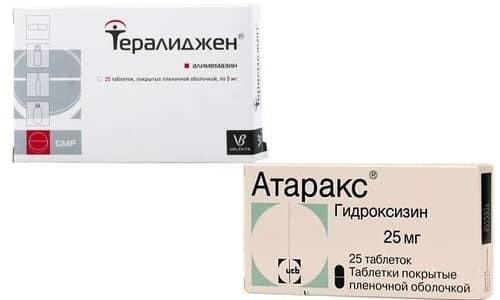 АТАРАКС или ТЕРАЛИДЖЕН: что лучше и в чем разница (отличие составов, отзывы врачей)
