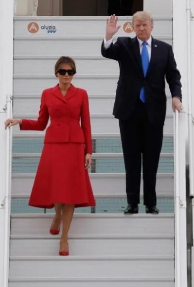 Секреты идеальной фигуры Мелании Трамп