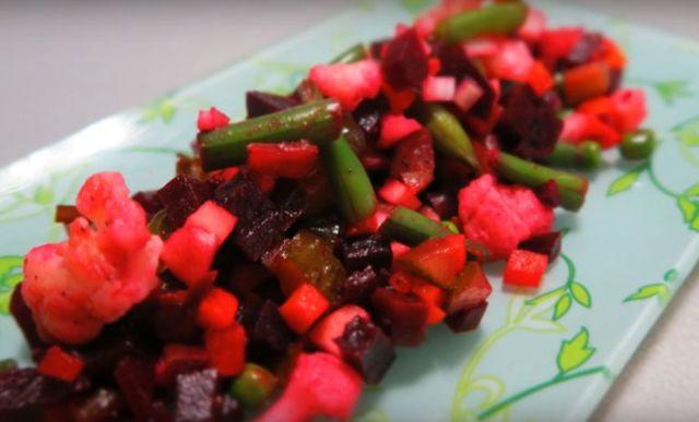 Винегрет для похудения: можно ли, рецепт, калорийность, на ужин. фото