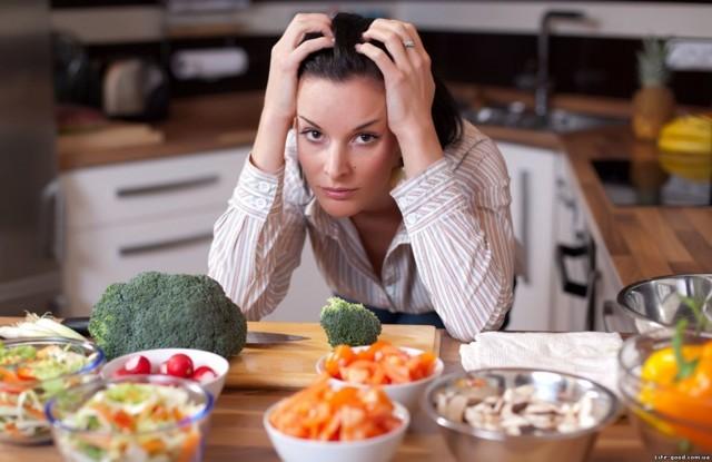 Болит голова во время диеты