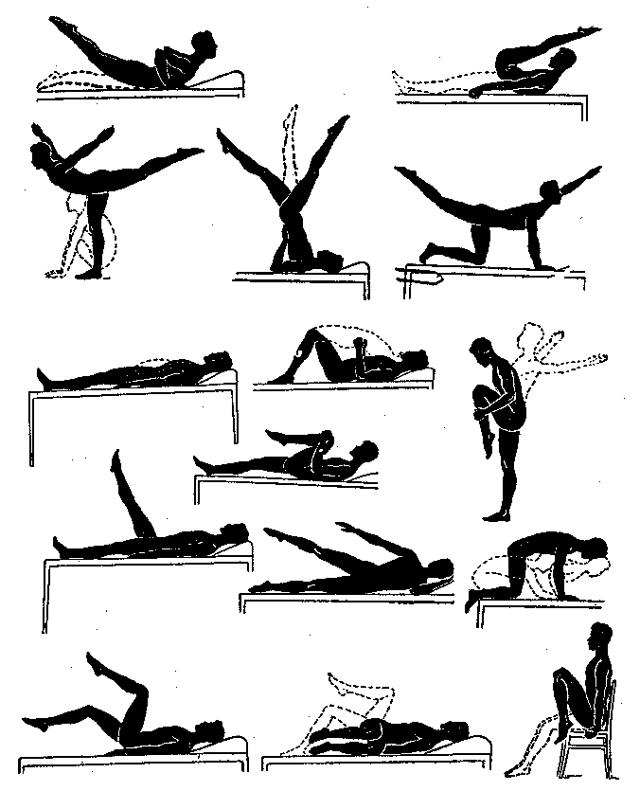 Лечебная гимнастика и массаж при простатите простатит брусничные листья