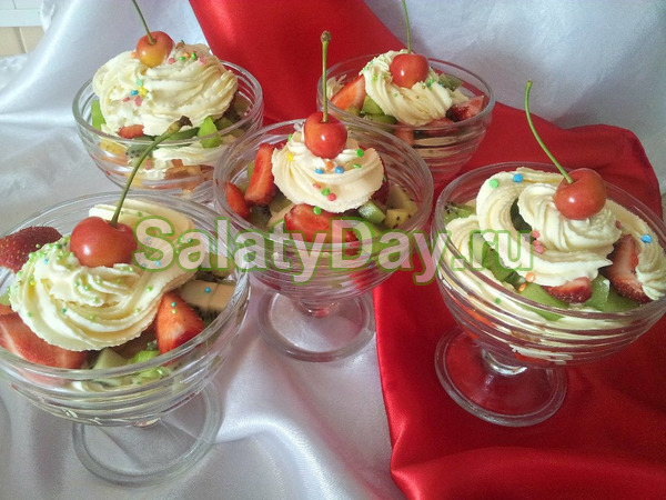 Фруктовый салат для детей: интересные идеи