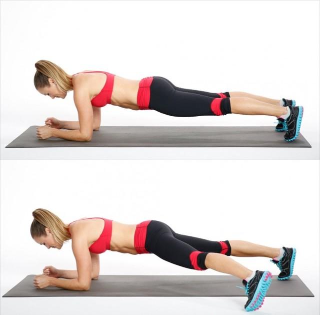 Боковые скручивания на полу: видео и фото упражнения